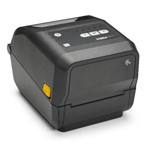 Impresora Zebra ZD420 vista frontal con garantía de fábrica por 12 meses.