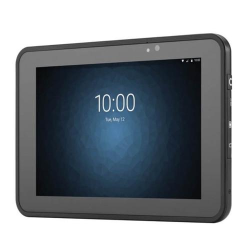 Tablet comercial ET50 vista frontal, garantía de fábrica por 12 meses.