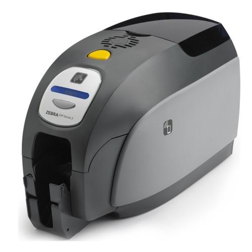 Impresora de credenciales ZXP Series 3 semilateral.