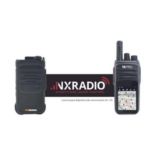Plataforma de Radiocomunicación Profesional para Terminales TE390/TXR58A/TXR50A (Licenciamiento anual) (NXRADIOTERMINAL).
