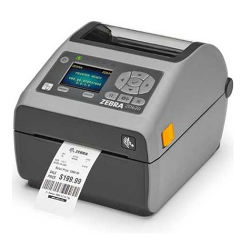 Impresora Zebra ZD620 para etiquetas foto semilateral.