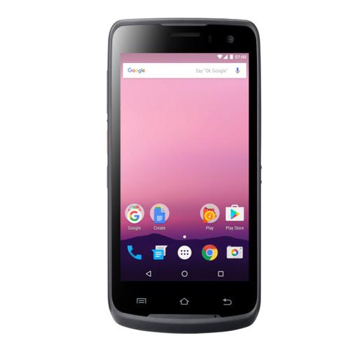 Computadora móvil, Android 7.1, Quad-Core 2D, Pantalla 5¨, TFT, 3G, & LT (US), WiFi, BT and Cradle, resistente a caídas de 1.5 mts. IP67, cable USB-c, & fuente de poder.