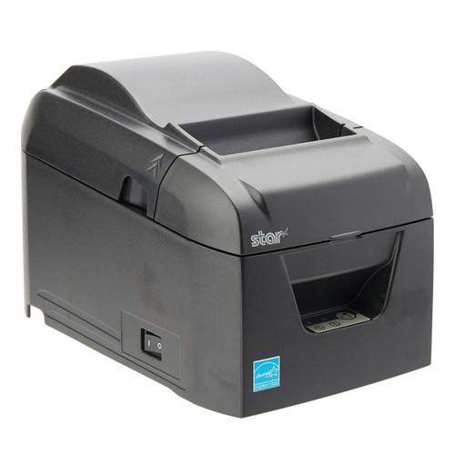 BSC-10, térmica, cortador automático, Ethernet (LAN), gris, fuente de alimentación externa incluida.