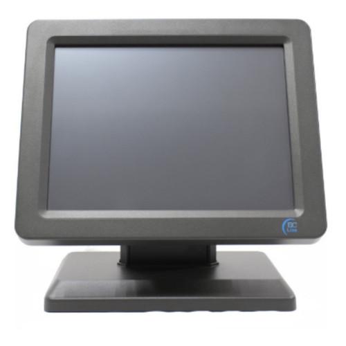 Monitor Touchscreen resisitive de 12 ¨, pantalla LCD, resolución XGA (1024 x 768) e interfaz USB.
