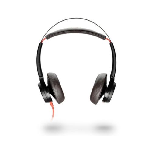 Los audífonos Poly Blackwire 7225 cuenta con un ligero y elegante diseño