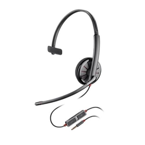 Los audífonos Blackwire 215 Monoaural es ideal para quienes prefieren tener una oreja descubierta y estar pendiente de su alrededor.