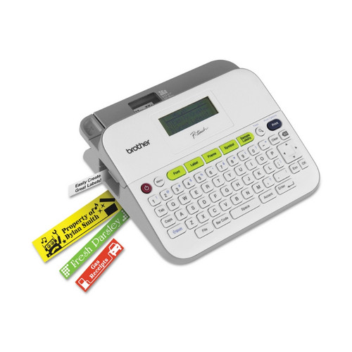 Rotulador electrónico Brother P-Touch PT-D400 para etiquetas.