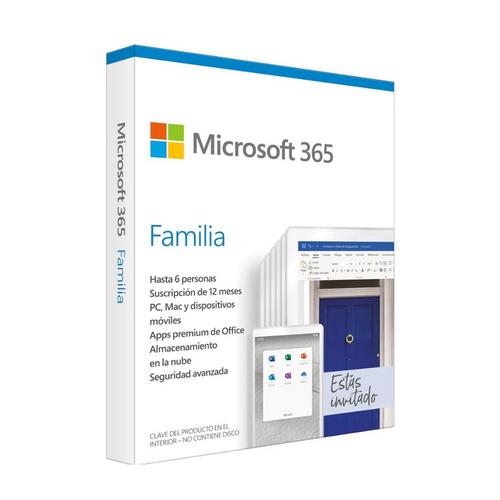 Licencia Microsoft 365 Family