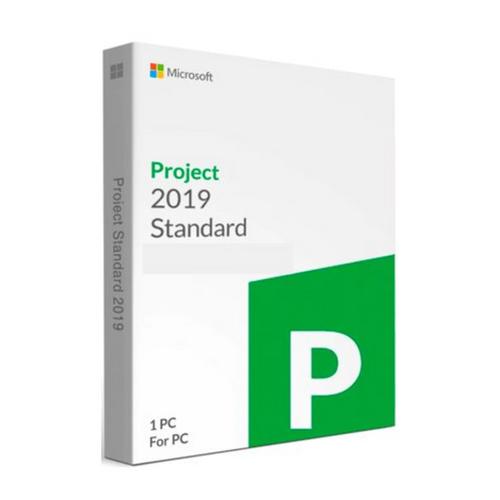 Licencia Microsoft Project Standard 2019