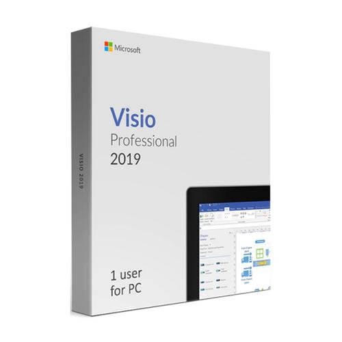 Licencia Microsoft Visio Professional 2019