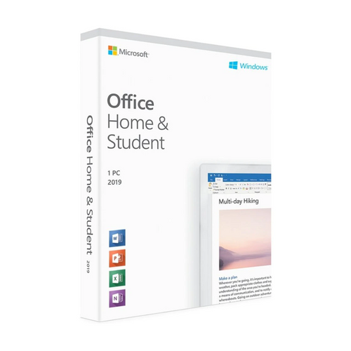 Licencia Microsoft Office Home and Student 2019