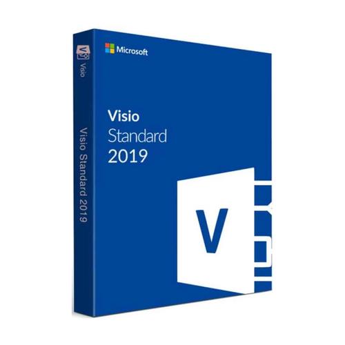 Licencia Microsoft Visio Standard 2019