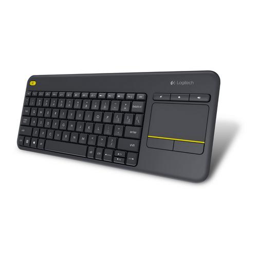 Teclado Logitech K400 Plus Inalámbrico C/TouchPad