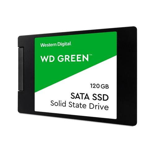 """SSD Interno Western Digital Green 120 GB SATA 2.5"""" C/Carcasa"""