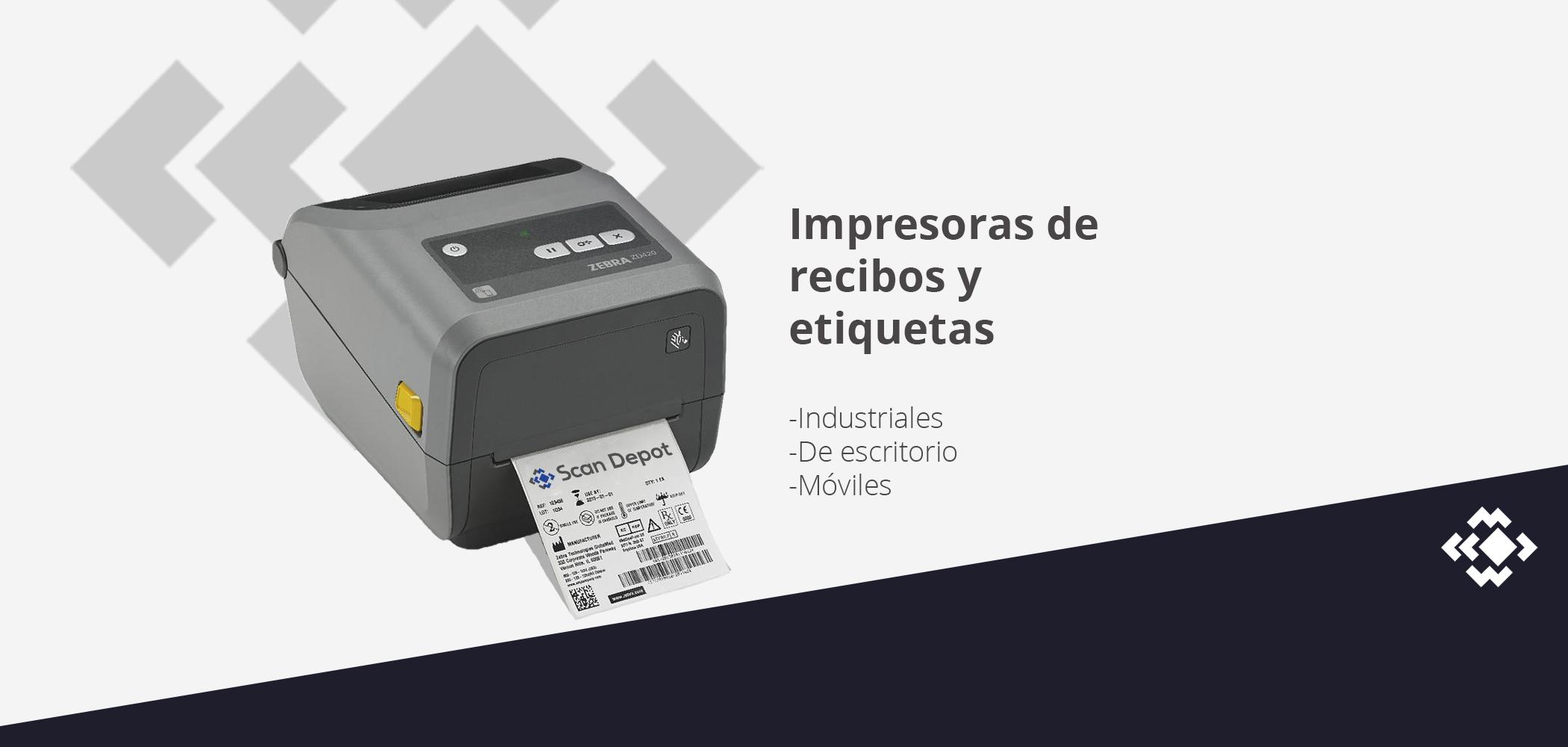 Impresoras de recibos y etiquetas