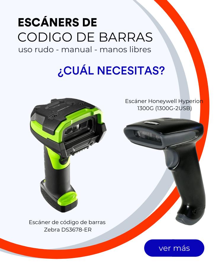 Escáners de uso manual, rudo o manos libres
