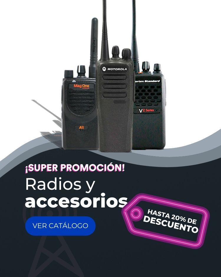 PROMOCION EN RADIOS MOTOROLA DEPP450, MAG ONE A 8 Y VZ 30 EN SCAN DEPOT.