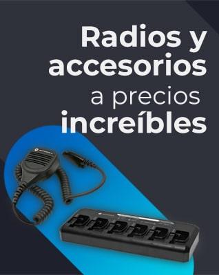 Radios y accesorios a precios increibles