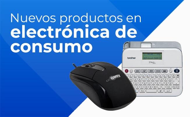 Nuevos productos en electrónica de consumo
