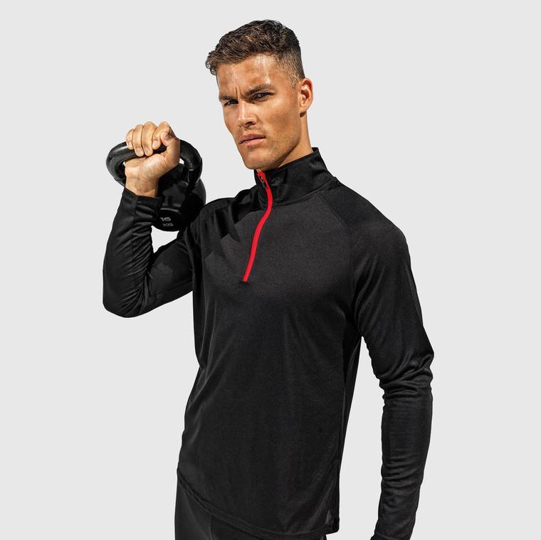 Men's Long Sleeve Performance Zip