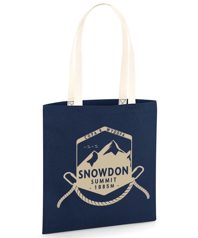 Snowdon Summit Shield Organic Tote