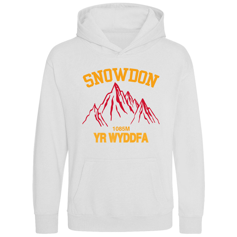 Kids Snowdon Red Mountain Classic Hoodie