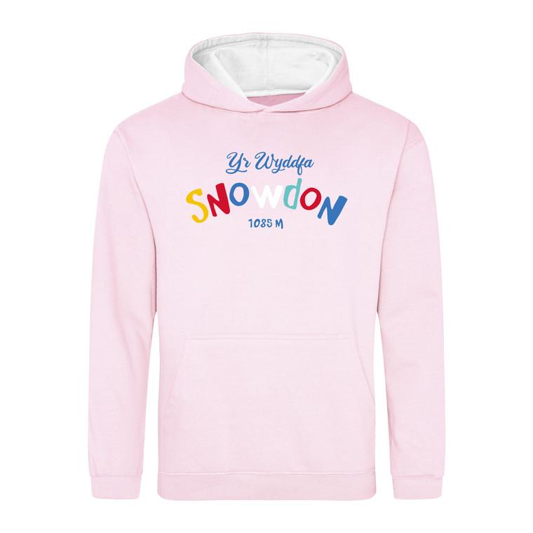 Kids Multicolour Snowdon Contrast Hoodie