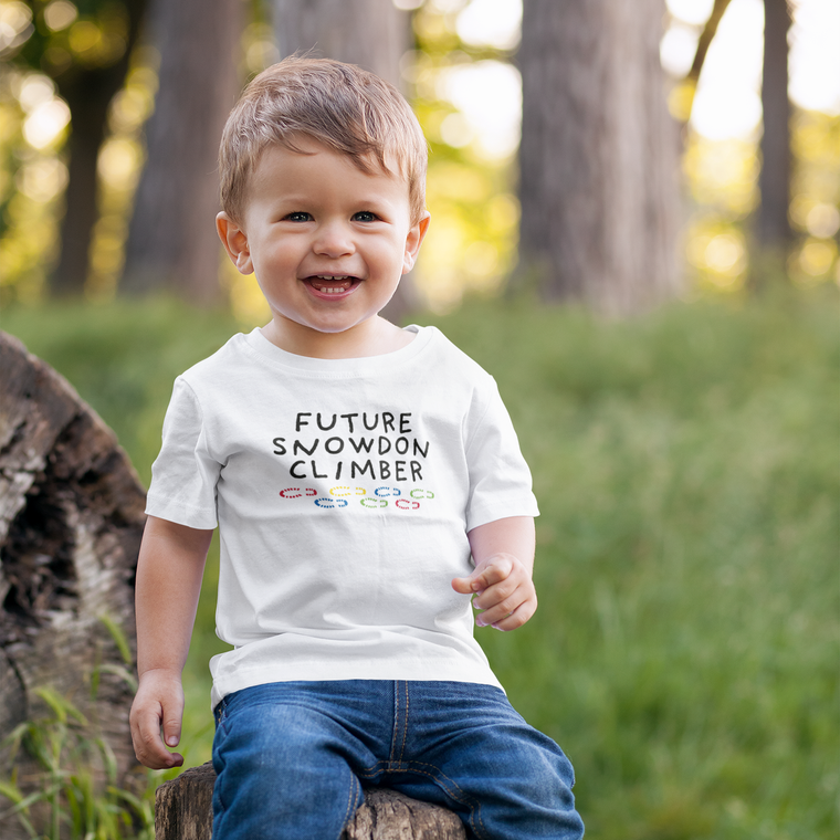 Future Snowdon Climber Snowdon Baby T-Shirt