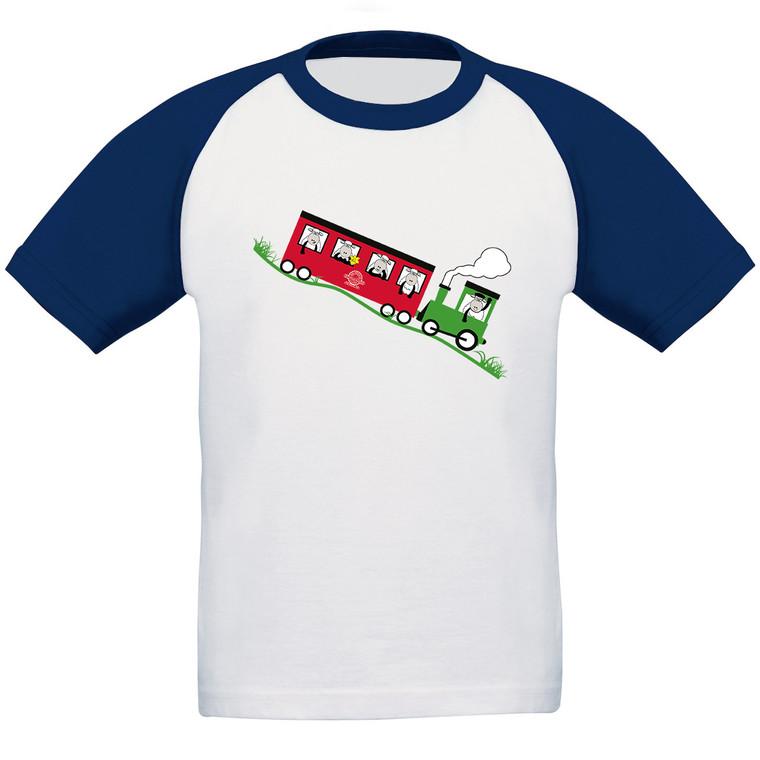 Kids Snowdon Train Baseball T-Shirt