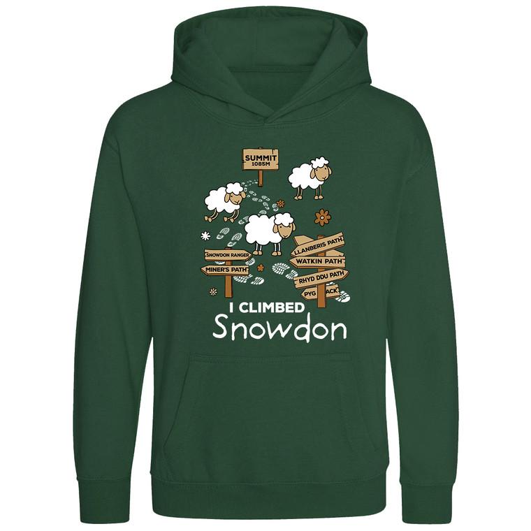 Kids 'I Climbed Snowdon' Classic Hoodie