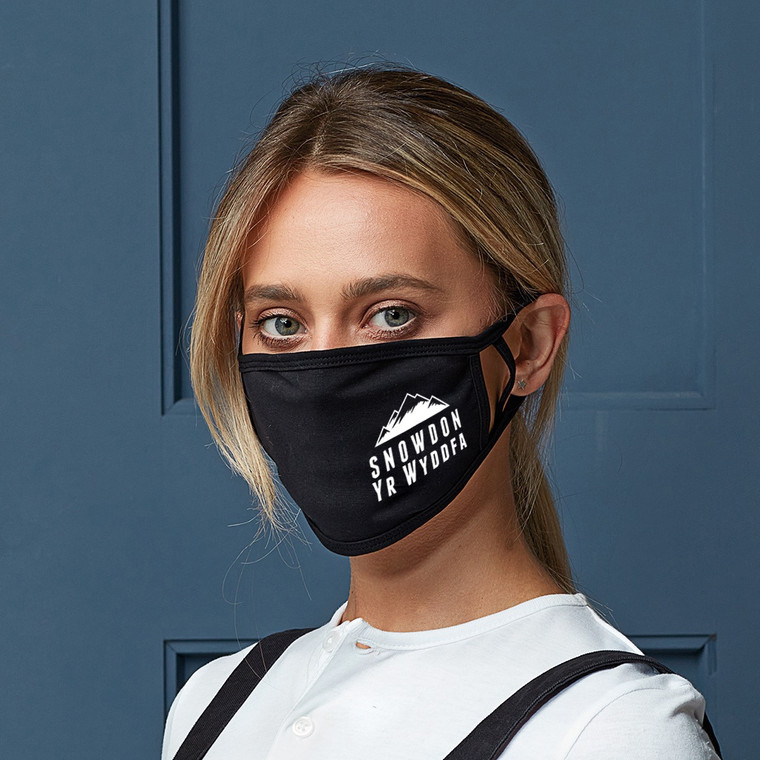 Snowdon Mountain Adult Cotton Face Mask