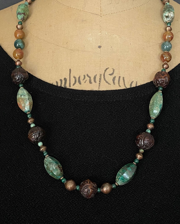 Earth Element Statement Ncklace