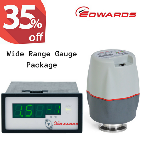 Edwards WRG Package WRG-S with ADC Pressure Controller