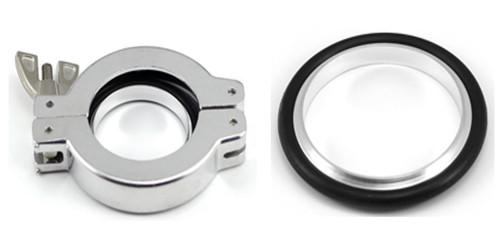 KF NW Aluminium Cast Swing Clamps with Al/NBR Centering Ring Package