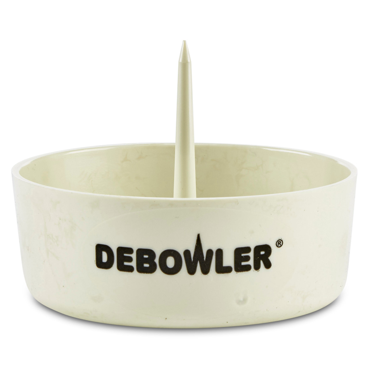 Kiwini 2 Pack Handmade Pyrex Flower Holder Glass Herb Bowl Green 18mm