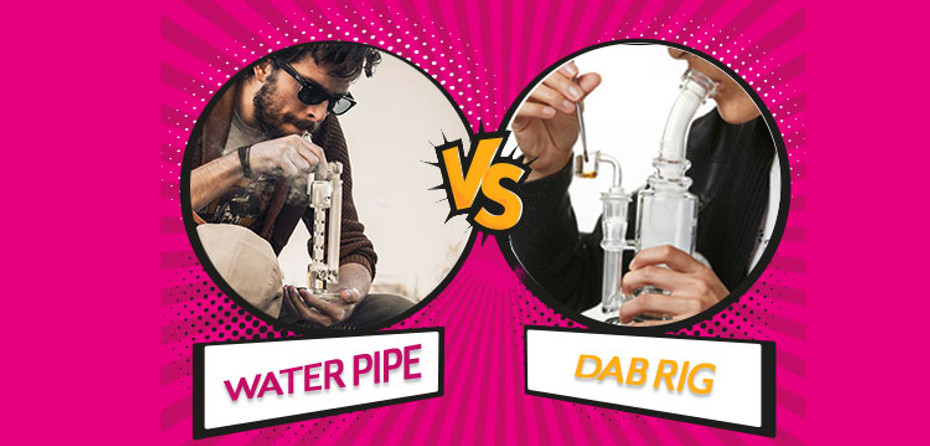 The Difference Between Water Pipes and Dab Rigs