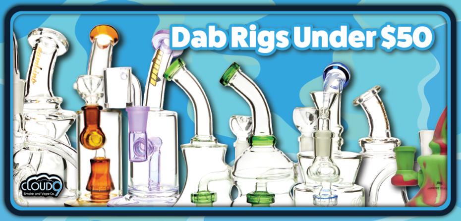 Dab Rigs Under 50$