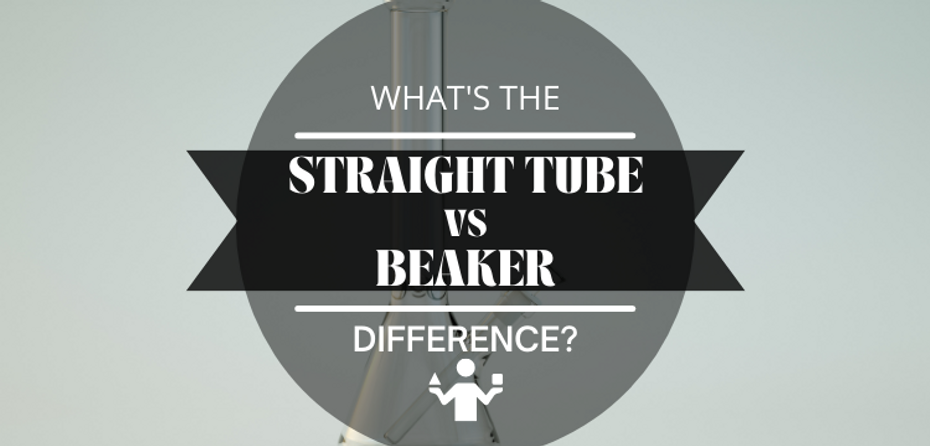 What's the Difference Between Beaker Water Pipes and Straight Tube Water Pipes?