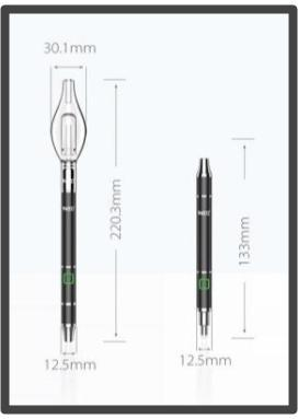 Yocan Dive Mini Dual Function Concentrate Vape Pen