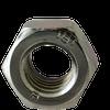 M22-2.50 DIN 985 Class 8 Nylon-Insert Locknut, Metric Coarse, Zinc Cr+3 (25/Pkg.)