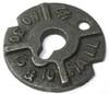 "1"" Round Malleable Iron Washers Plain (40 Lbs./Bulk Pkg.)"