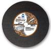 "12"" x 1/8""(5/32) x 20 mm Cut-Off Wheel for Portable Gas Saw - Double Reinforced - Ductile,  Mercer Abrasives 606020 (10/Pkg)"