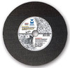 "12"" x 1/8""(5/32) x 1"" Cut-Off Wheel for Portable Gas Saw - Double Reinforced - Asphalt,  Mercer Abrasives 611010 (10/Pkg.)"
