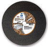 "14"" x 1/8""(5/32) x 20mm Cut-Off Wheel for Portable Gas Saw - Double Reinforced - Ductile,  Mercer Abrasives 606040 (10/Pkg)"