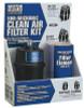 "Motorguard Compressed Air Filter Kit, 2 Elements/Mounting Hardware, 1/4""(NPT), Sub-Micronic, 1 EA, #M26KIT"