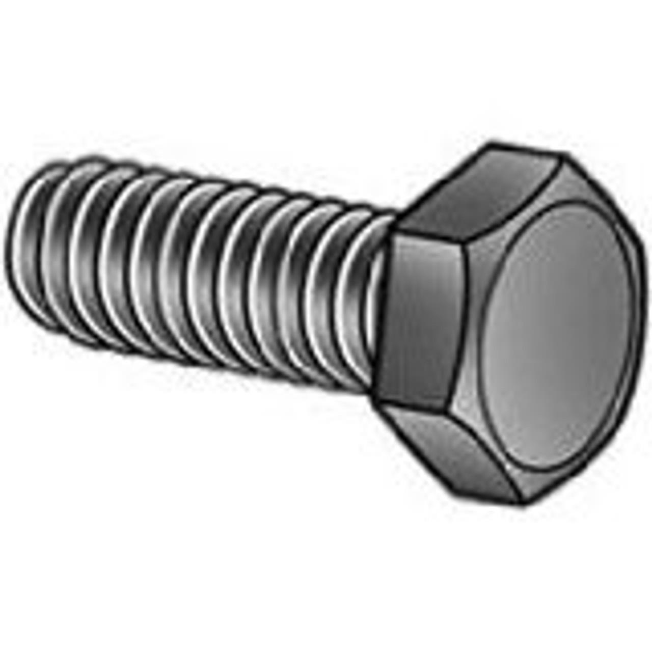 M12 X 100 Zinc Plated bolt DIN 931 8.8 part thread