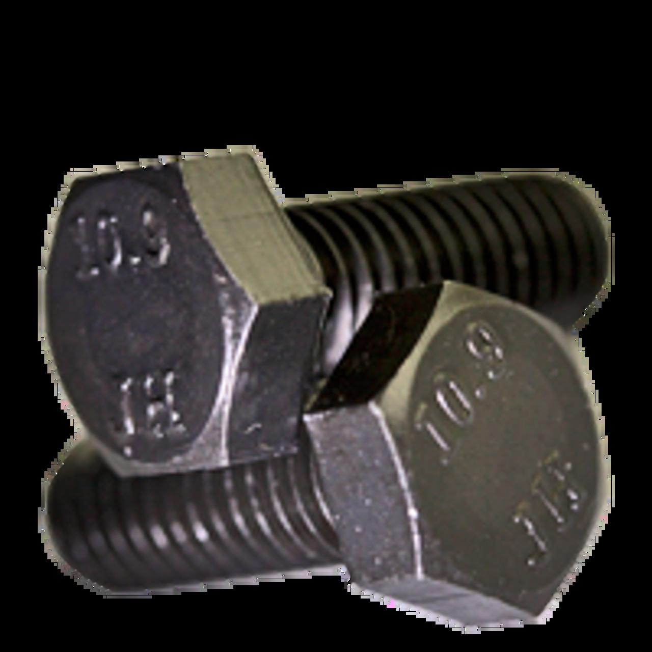 FT M8 x 1.00 x 20 MM Black Bolt Fine Class 10.9 Hex Cap Screw