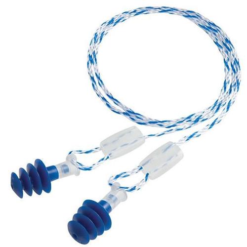 Howard Leight Clarity Multiple-Use Earplugs, Regular, Blue