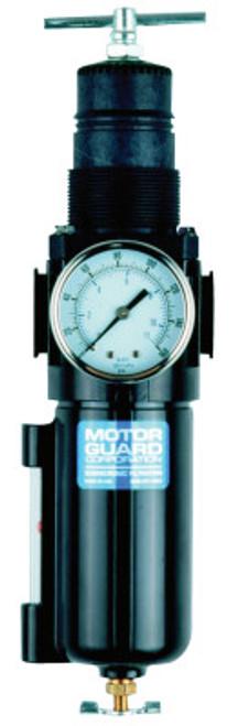 "Motorguard Compressed Air Filters, 1/2""(NPT), Low Profile Air Control Unit Regulator/Filter, 1 EA, #AC4525"