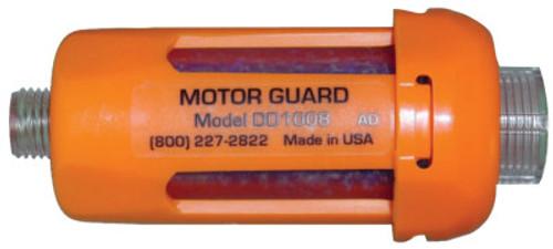 "Motorguard Compressed Air Filters, 1/4""(NPT), Disposable In-Line Desiccant, Plasma Machines, 1 PK, #DD10082"
